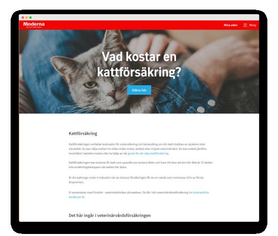 Moderna försäkring hemsida